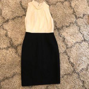 Carolina Herrera Creal Silk and Black Dress